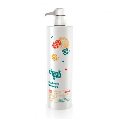 Shampoo Thank You Hidrate Therapy 300ml - Cabelos Ressecados e Volumosos