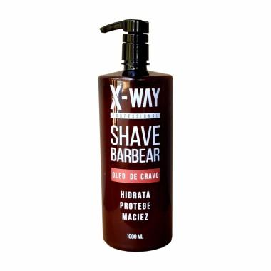 Shave Barbear Óleo de Cravo X-Way 1000ml