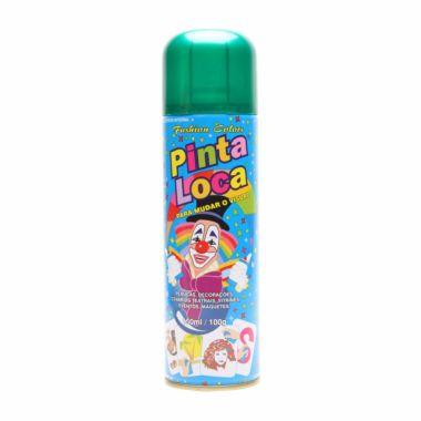 Tinta Spray para Cabelos Verde