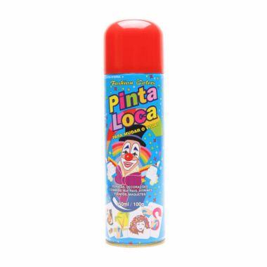 Tinta Spray para Cabelos Vermelho