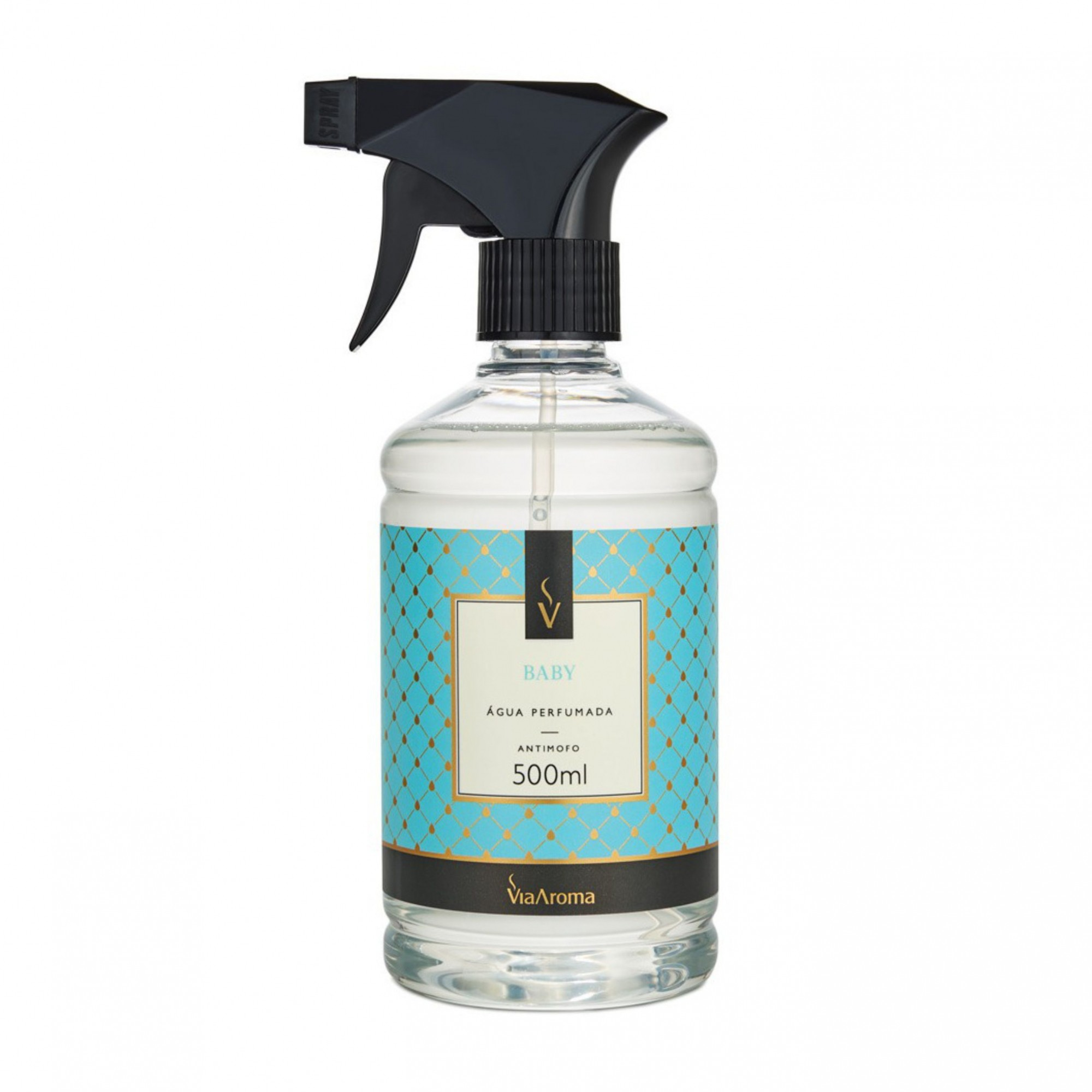 Água Perfumada para Tecidos Baby ViaAroma 500ml