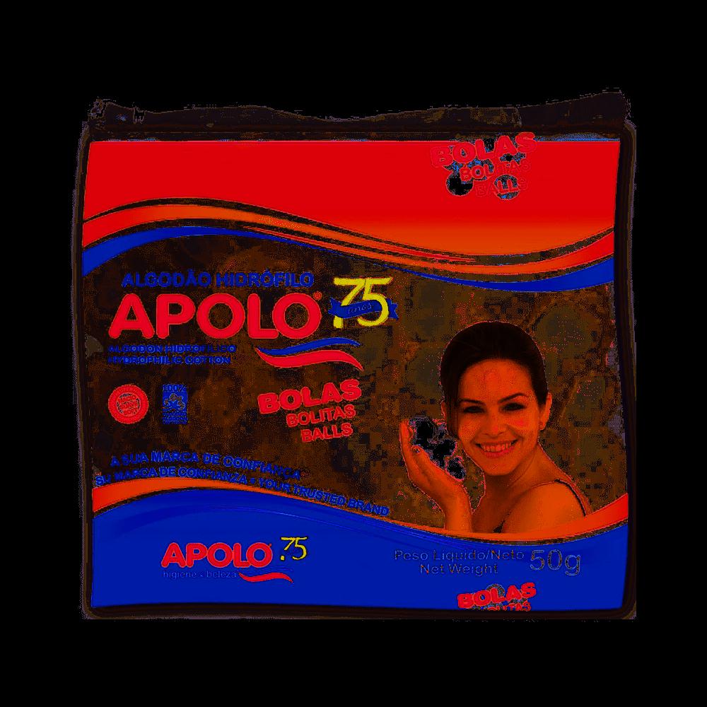 Algodão Apolo em bolas  Hidrofilo 50g