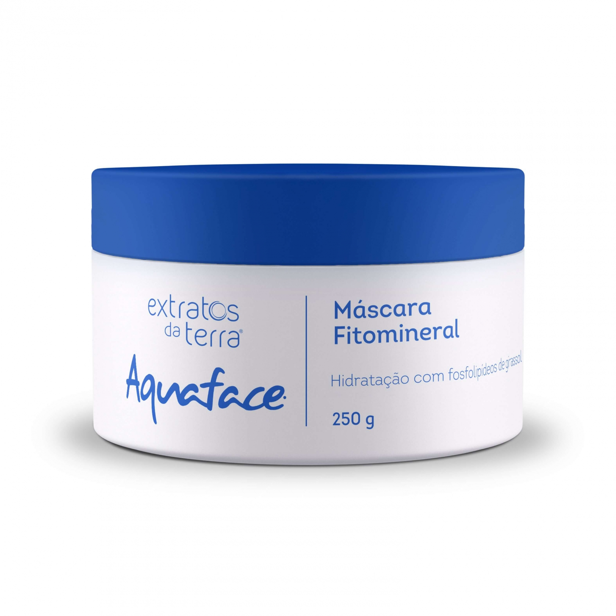 Aquaface - Máscara Fitomineral Extratos Da Terra 250g