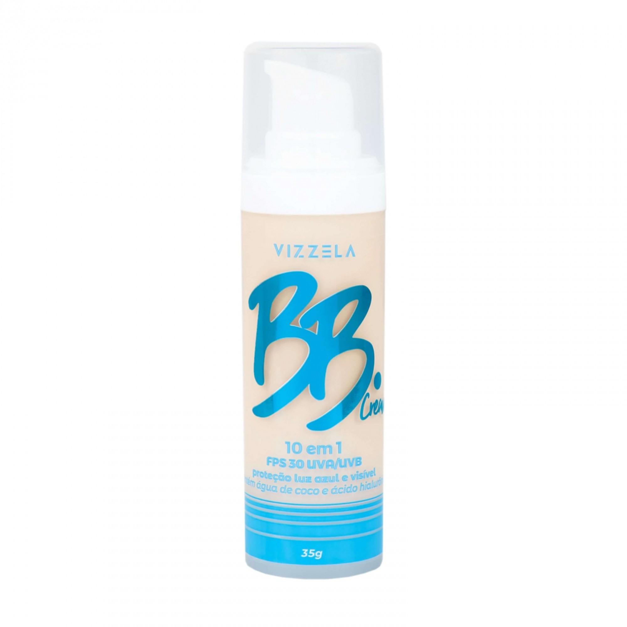 BB Cream FPS30 Vizzela Cosméticos cor 00