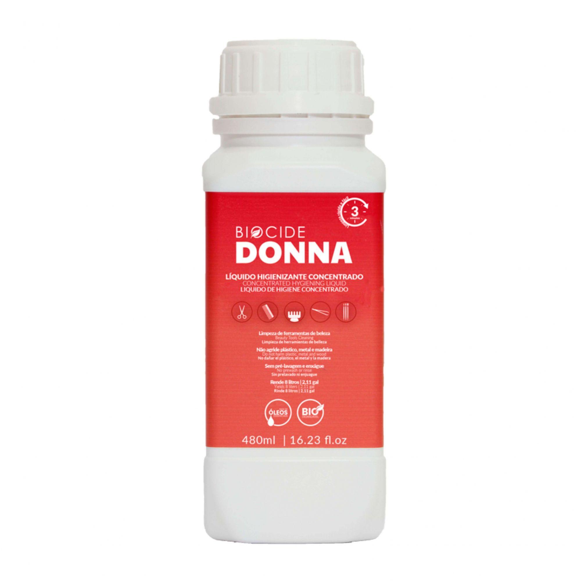 Biocide donna liquido higienizante concentrado 480 ml