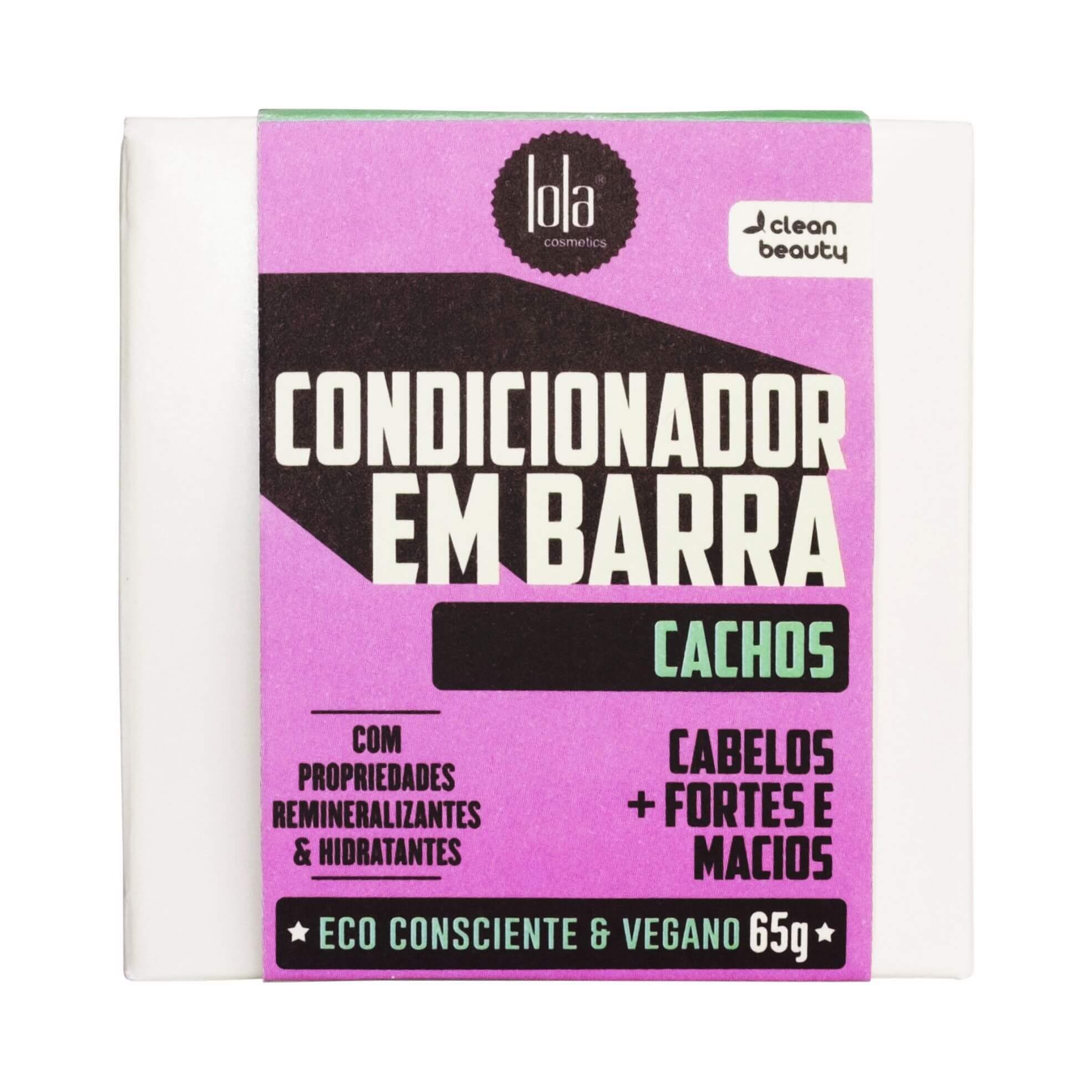 Condicionador Em Barra Cachos Lola Cosmetics 65g