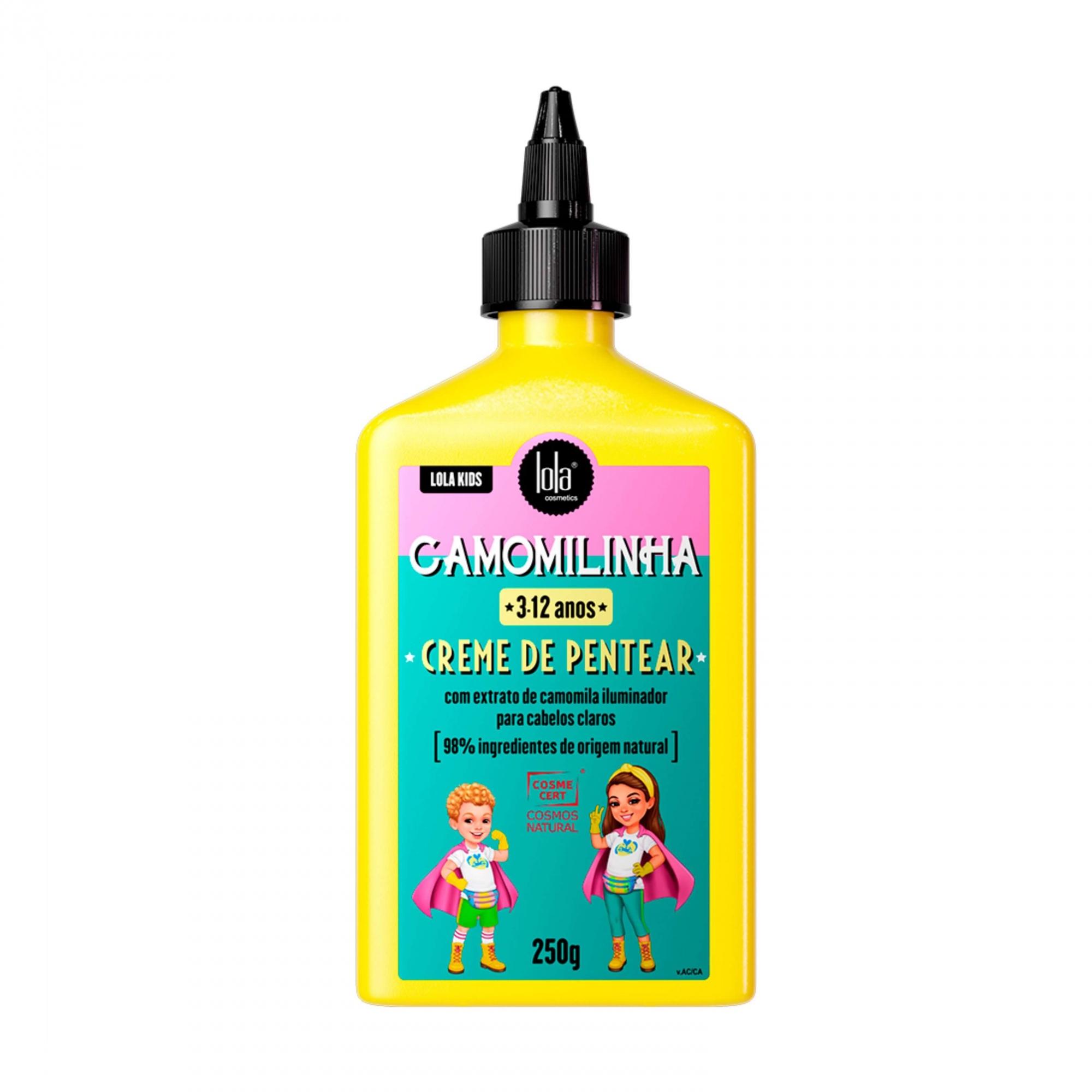 Creme De Pentear Camomilinha Lola Kids 250g