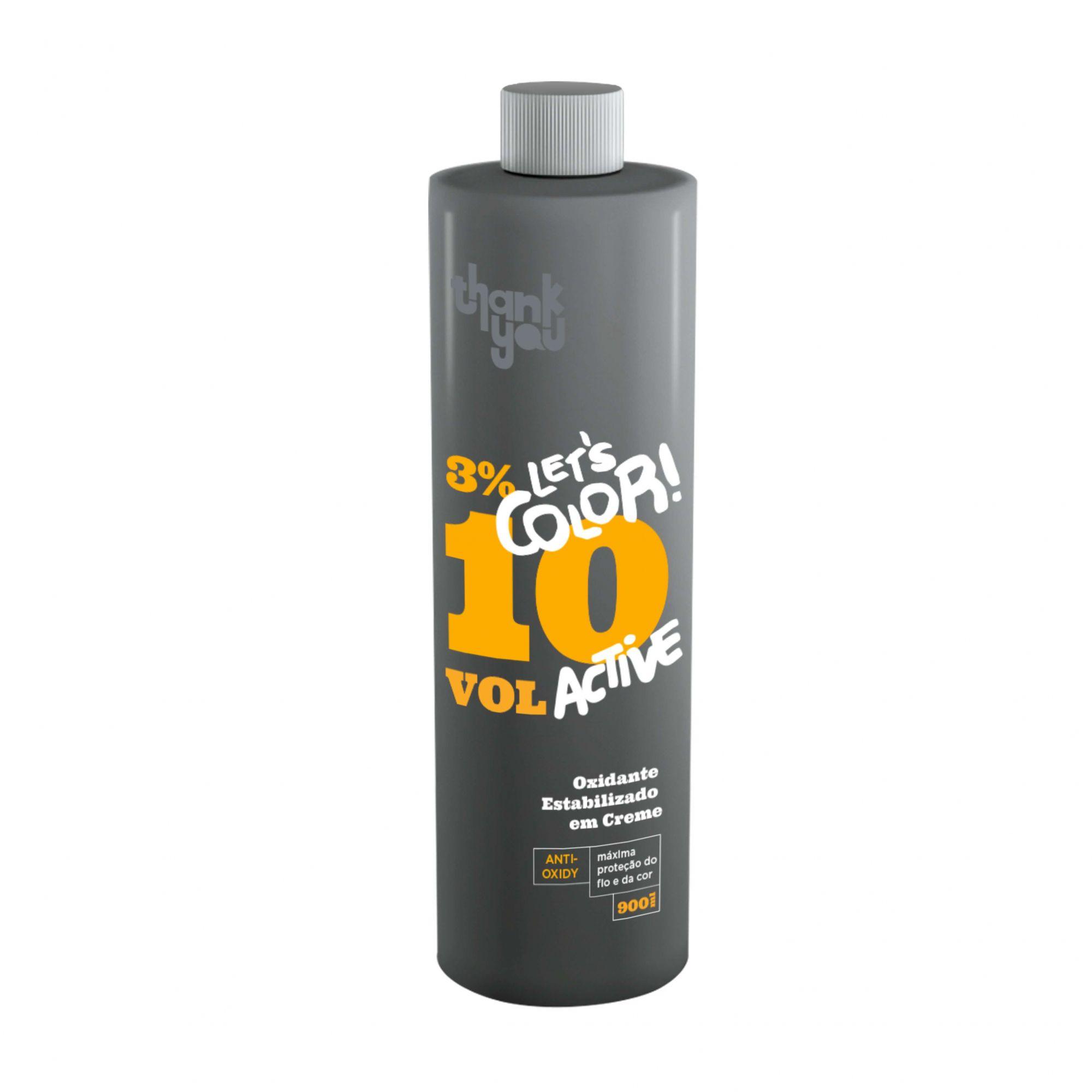 Creme Oxidante Estabilizado 3% - 10 Volumes Thank You Let's Color - 900ml