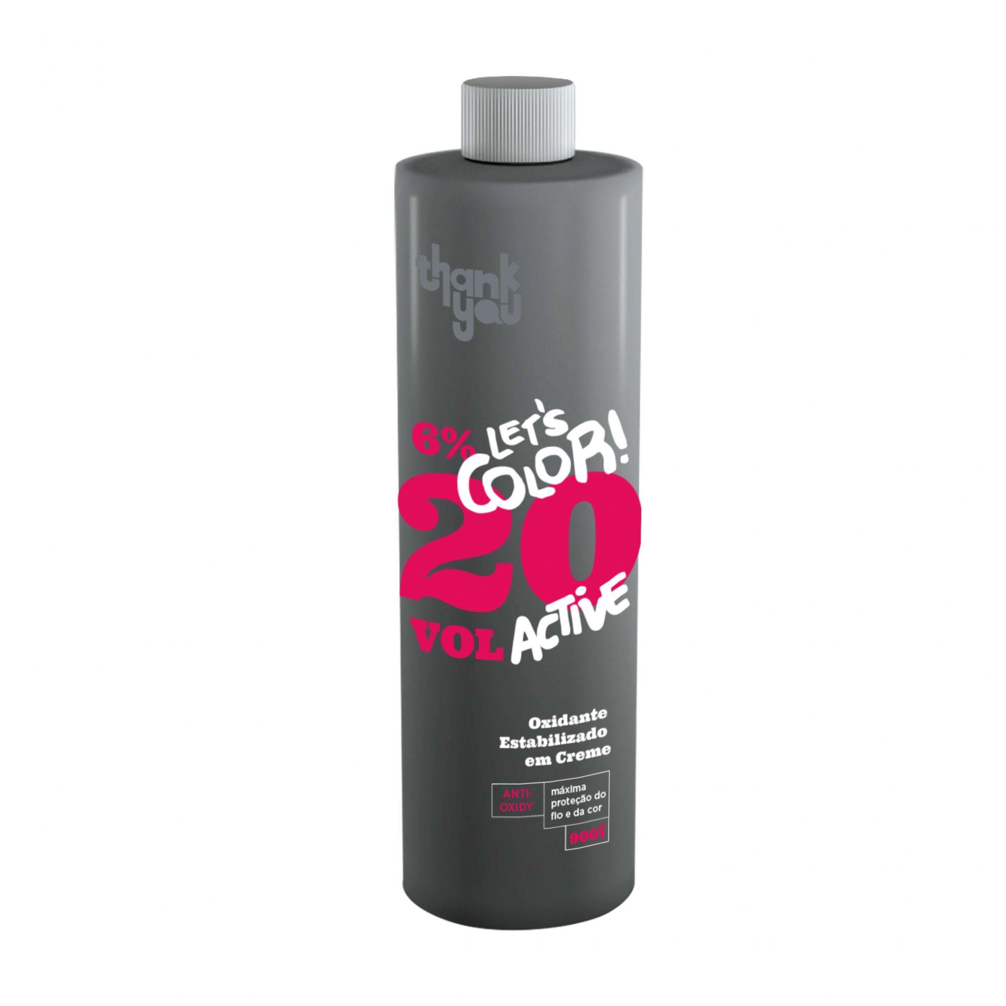 Creme Oxidante Estabilizado 6% - 20 Volumes Thank You Let's Color - 900ml