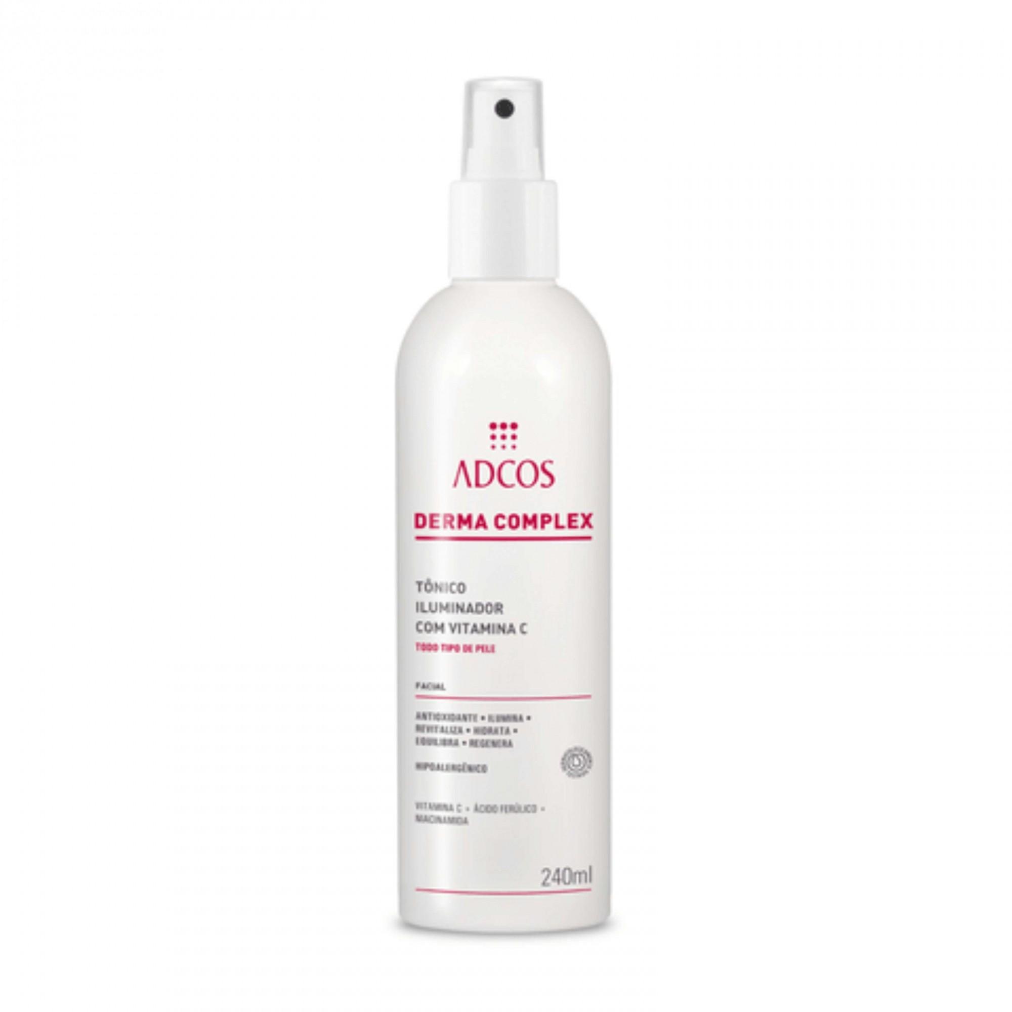 Derma Complex - Tônico Iluminador com Vitamina C ADCOS 240ml