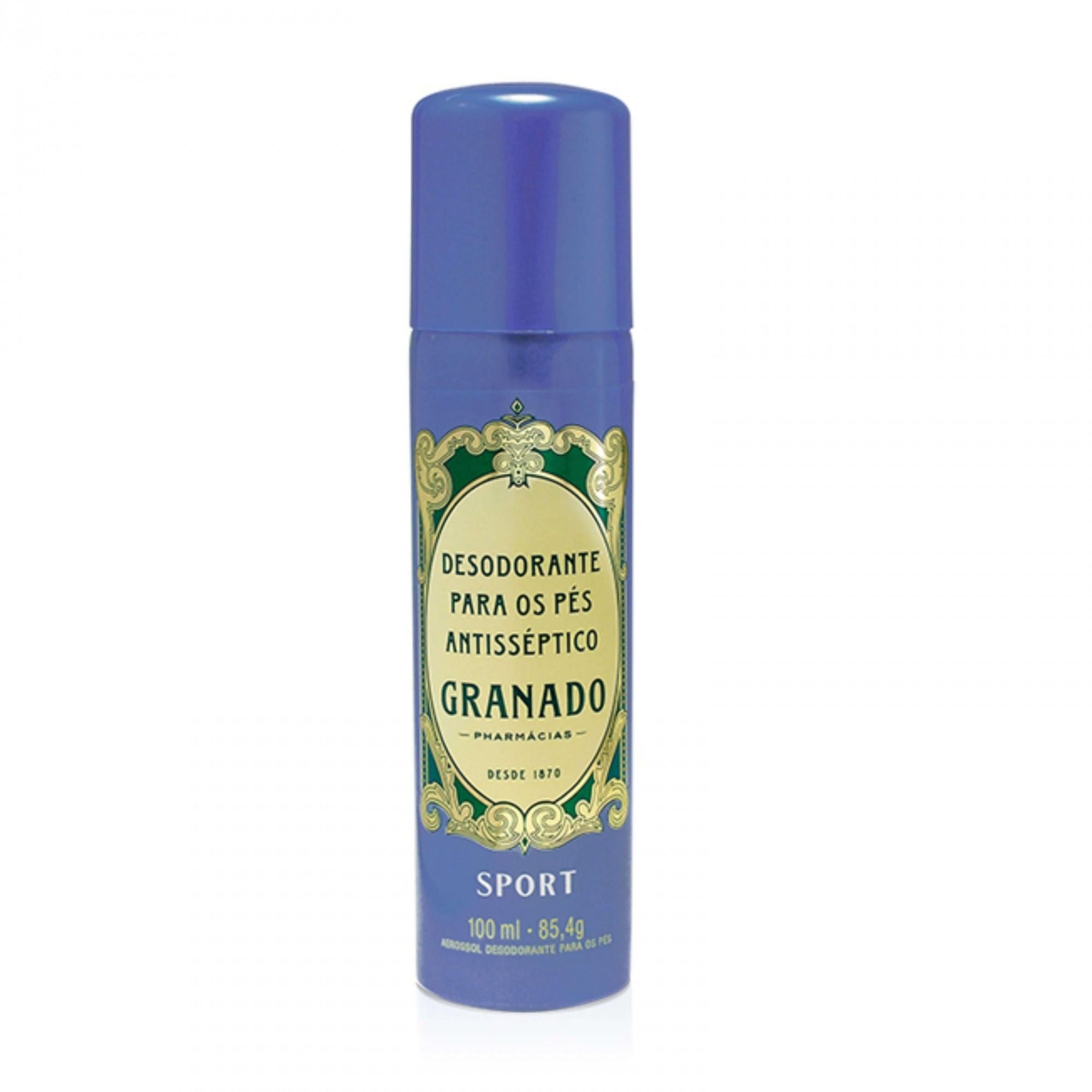Desodorante Para Pés Antisséptico Sport Granado 100 ml