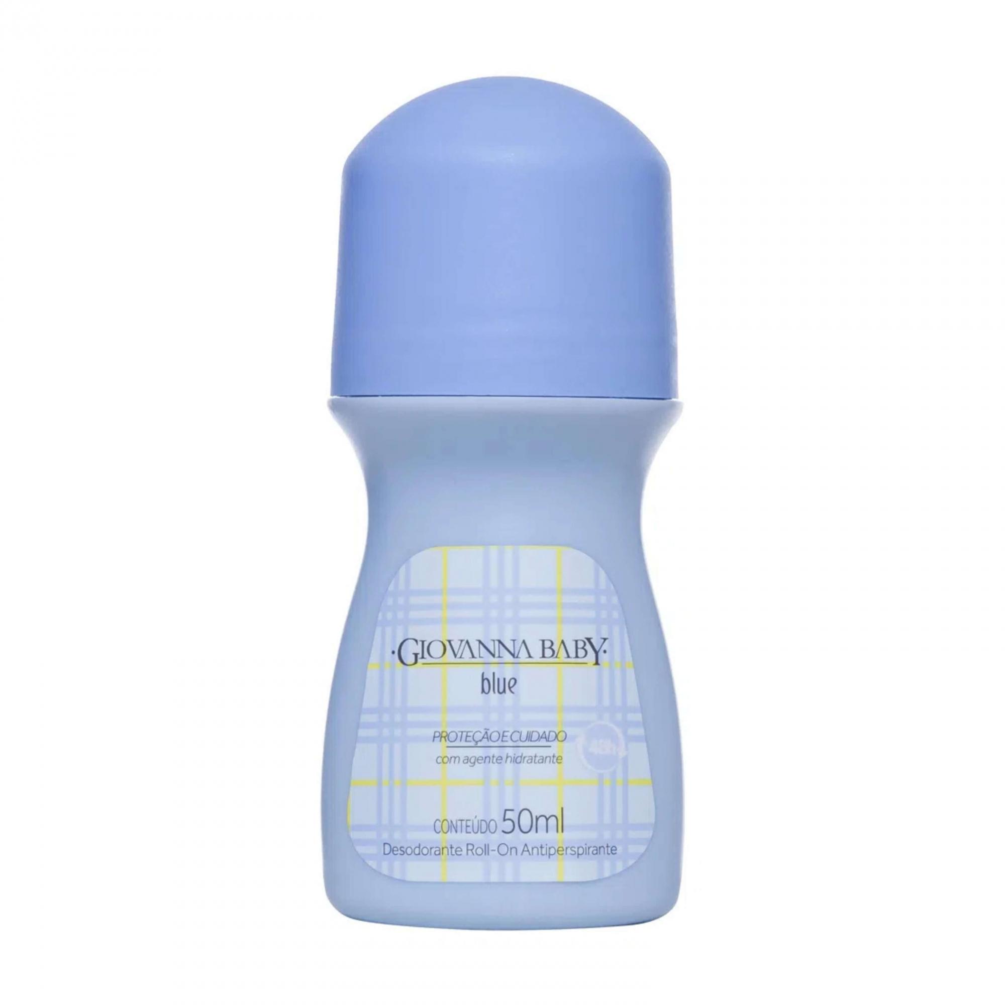 Desodorante Roll-On Blue Giovanna Baby 50ml