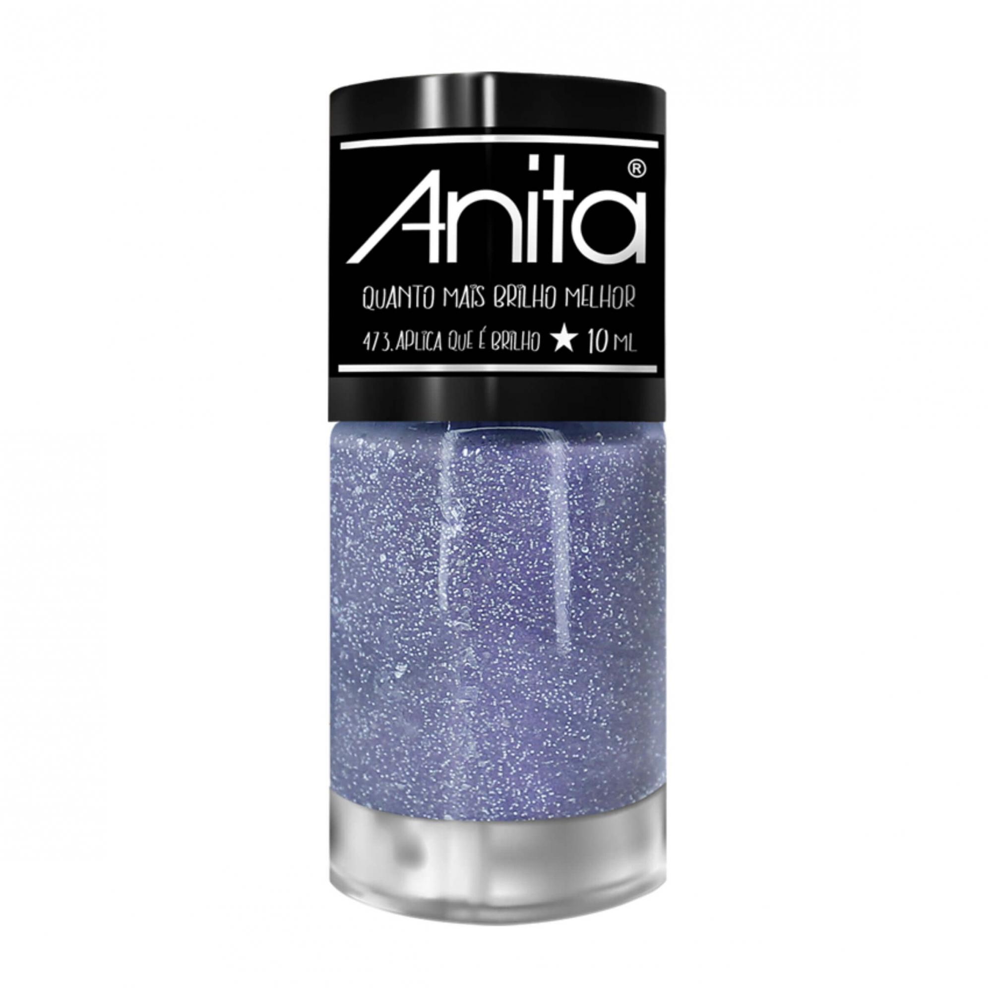 Esmalte Anita Quanto Mais Brilho Melhor - Aplica que é brilho 475