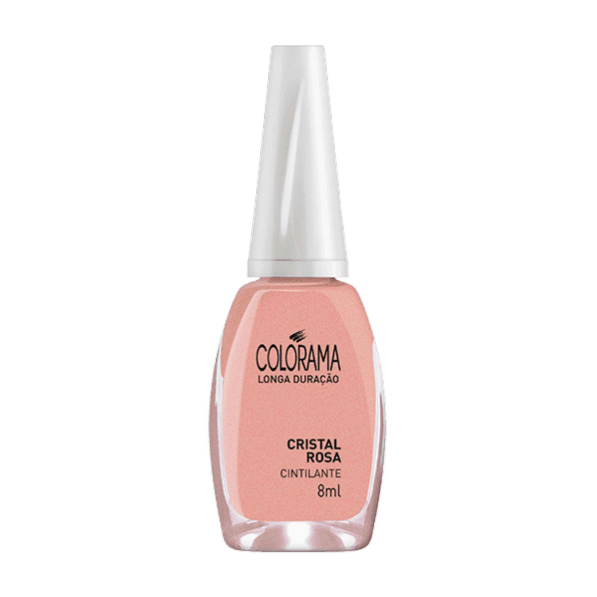 Esmalte Colorama Cristal Rosa Cintilante