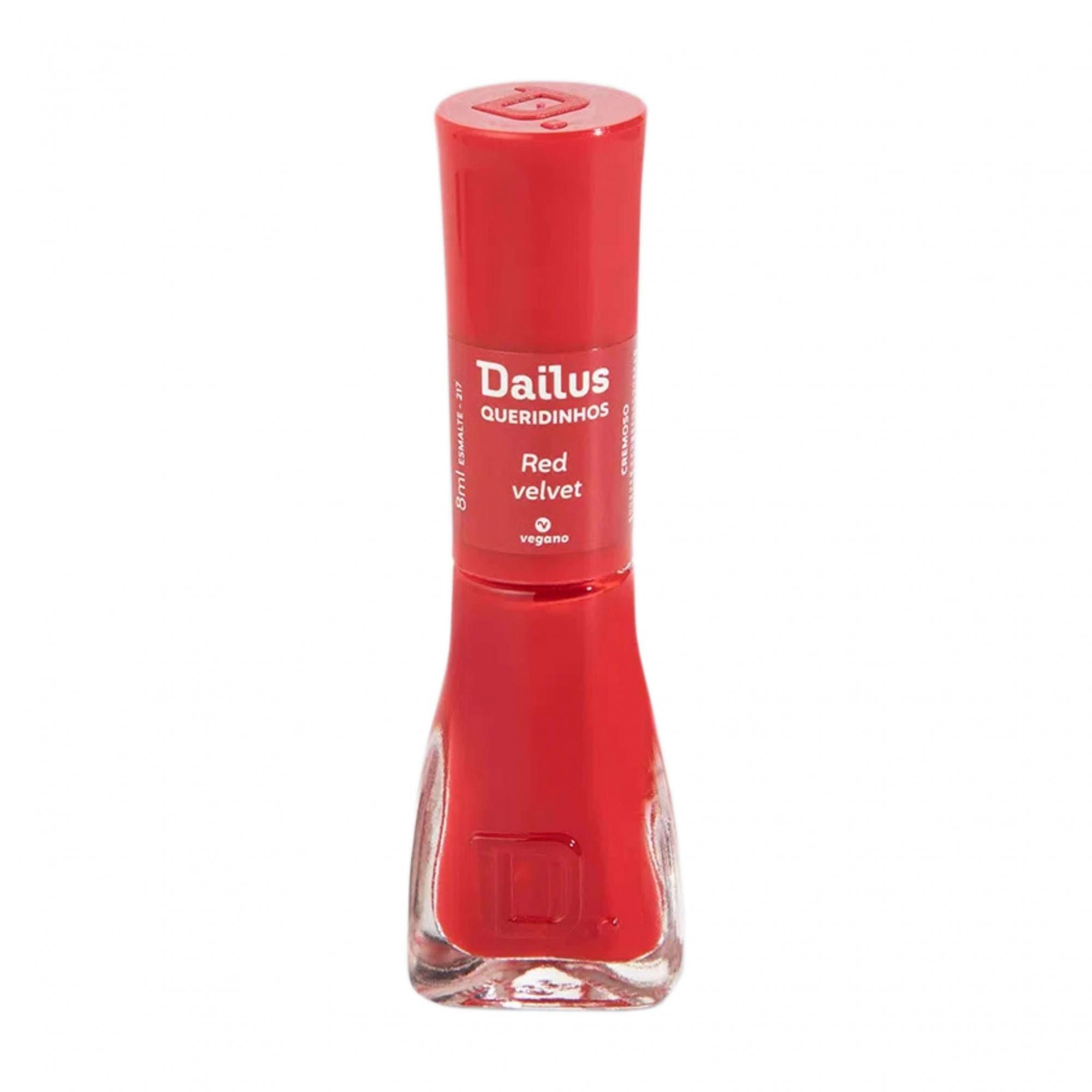 Esmalte Dailus Queridinhos - Red Velvet 8ml