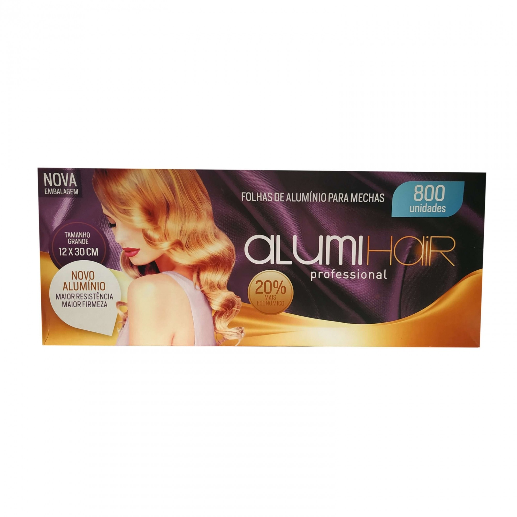 Folhas de Alumínio para Mechas Alumi Hair 800 unidades