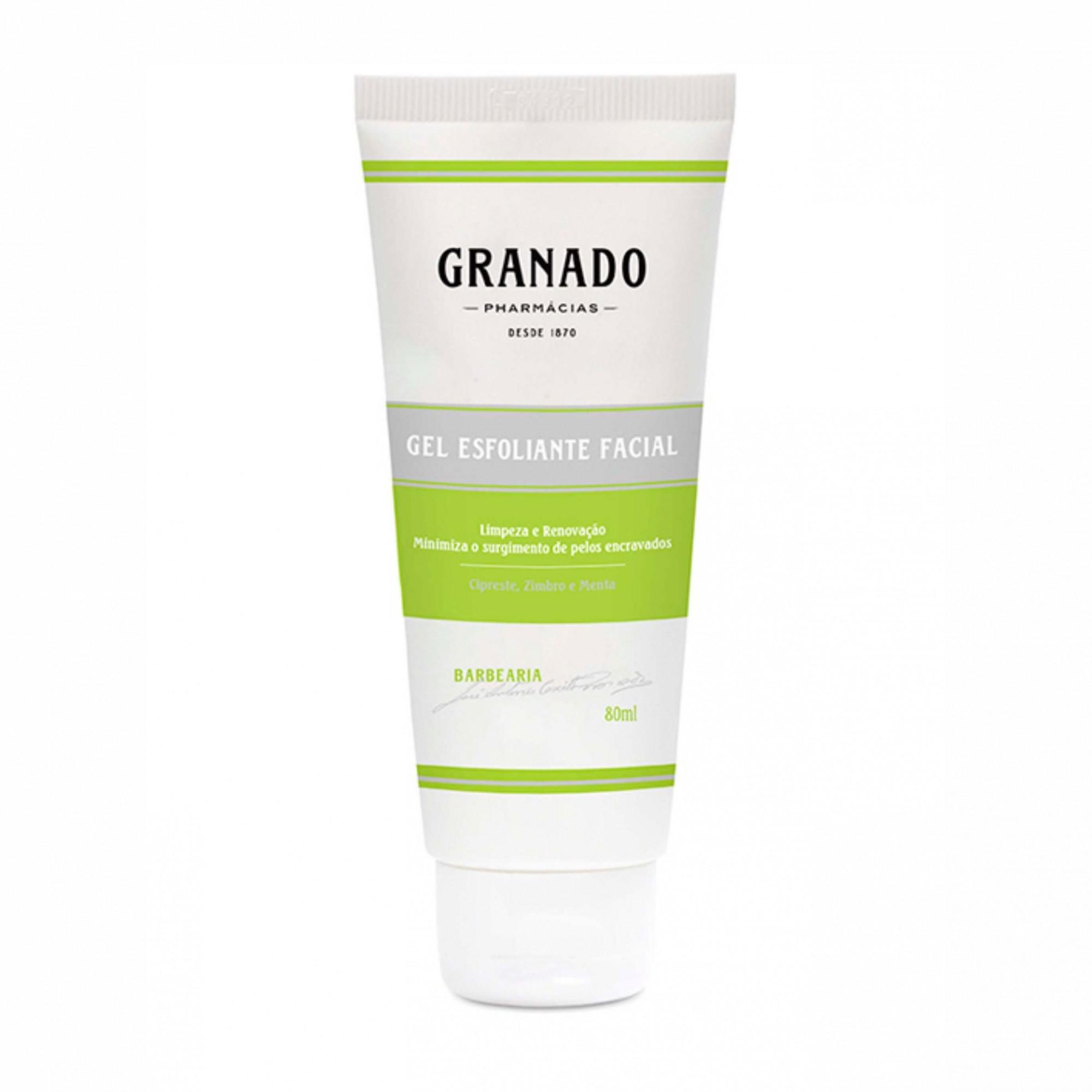 Gel Esfoliante Facial Granado  80ml