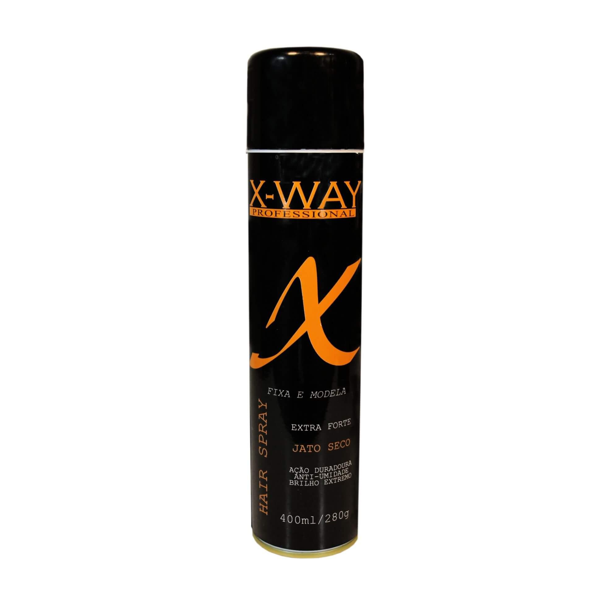 Hair Spray Fixador  Extra Forte  X-Way 400ML