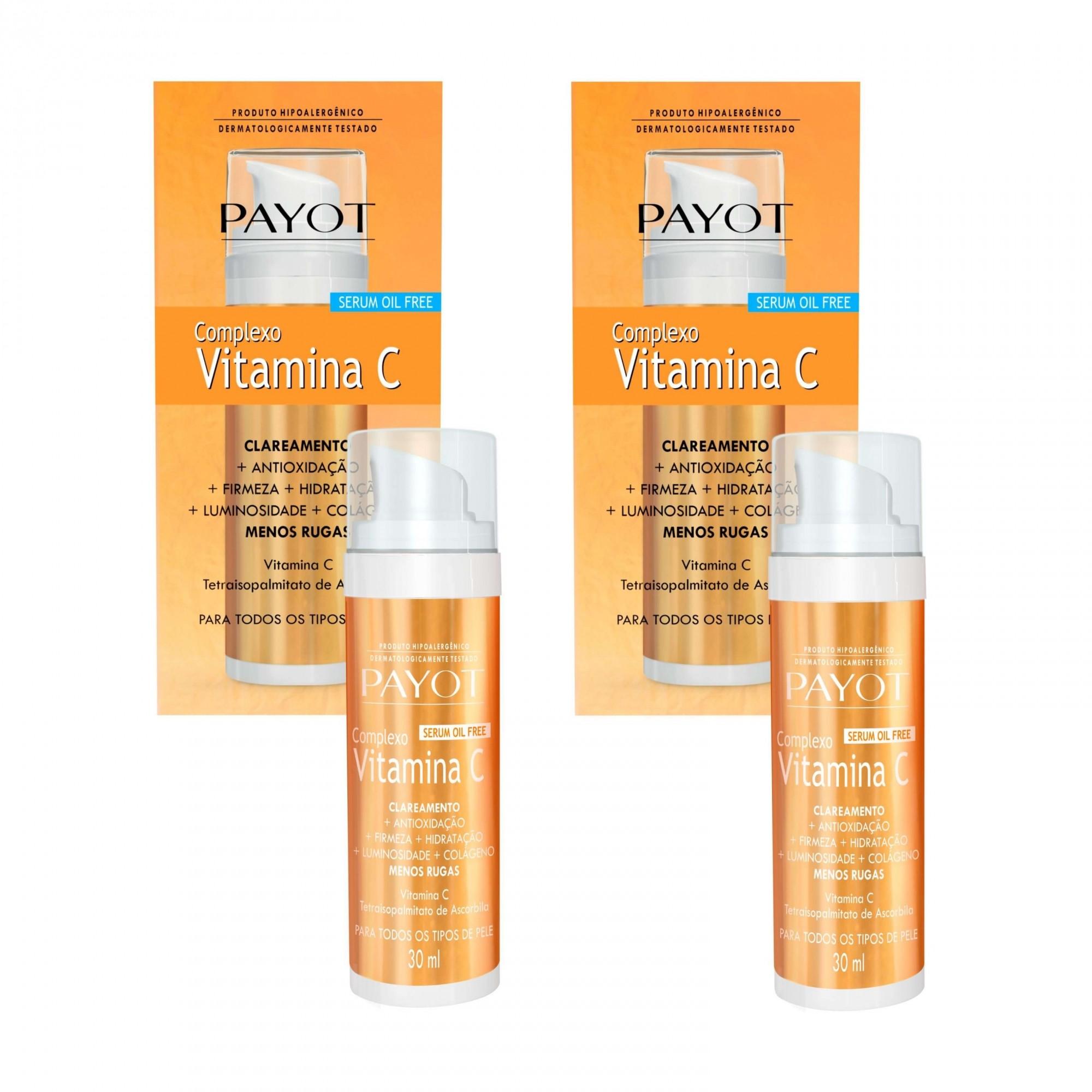 Kit Complexo de Vitamina C Payot (2 produtos)