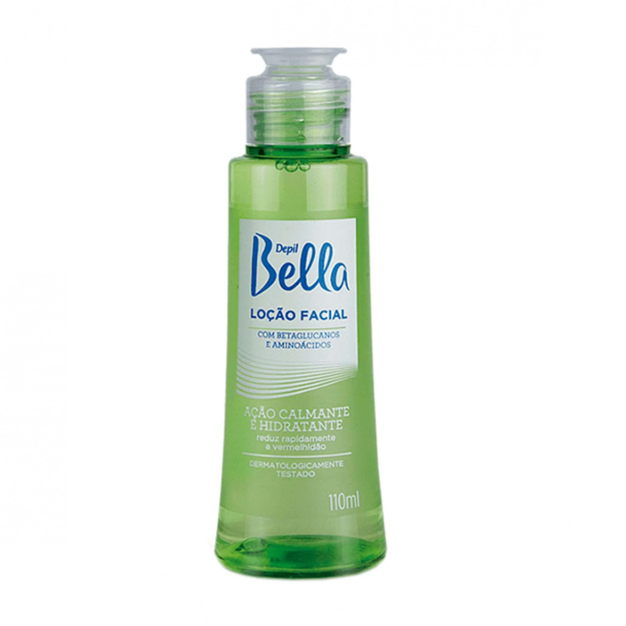 Loção Facial Calmante Depil Bella 110ml