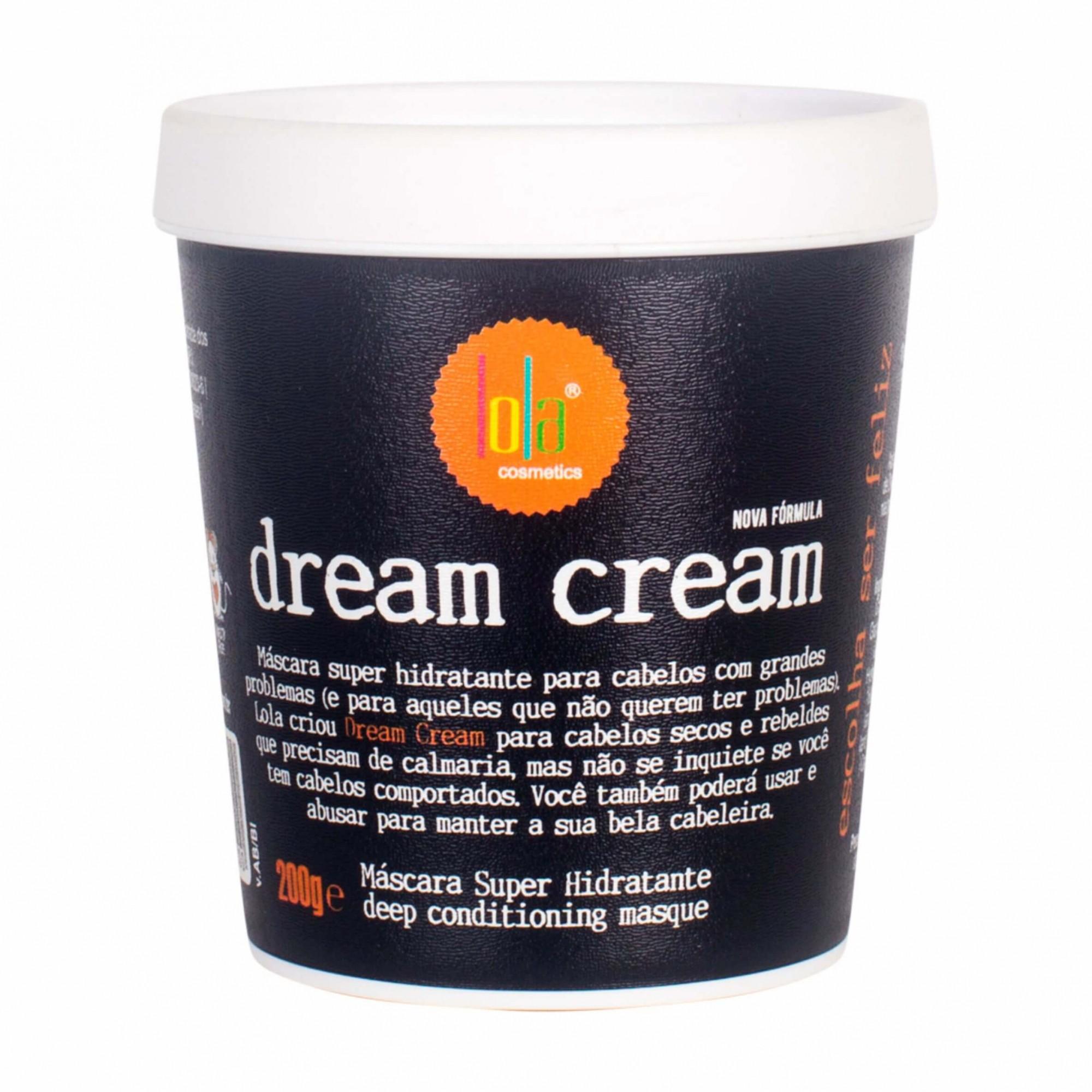 Lola Cosméticos Dream Cream - Máscara Capilar 200g
