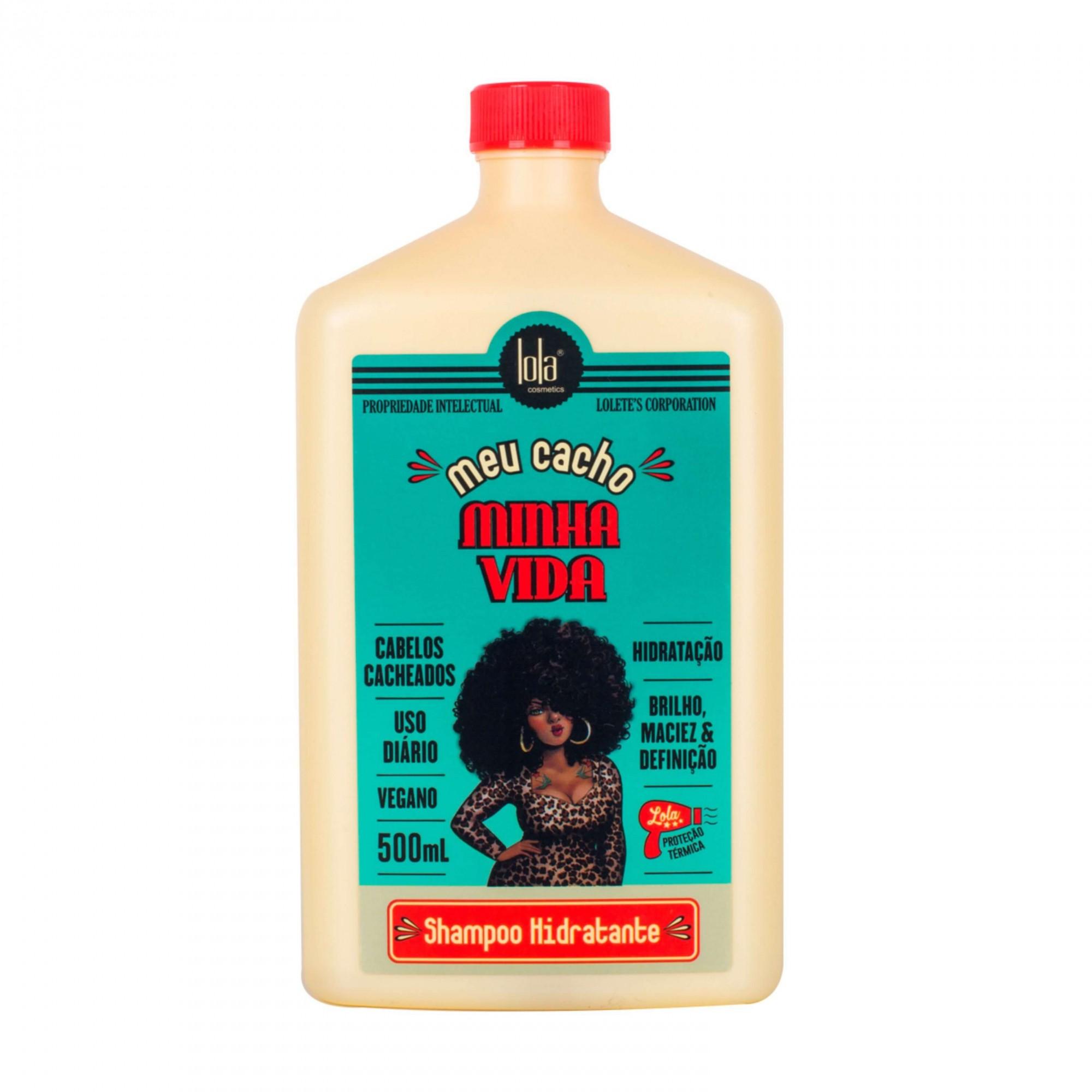 Lola Cosméticos Meu Cacho Minha Vida - Shampoo sem Sulfato 500ml