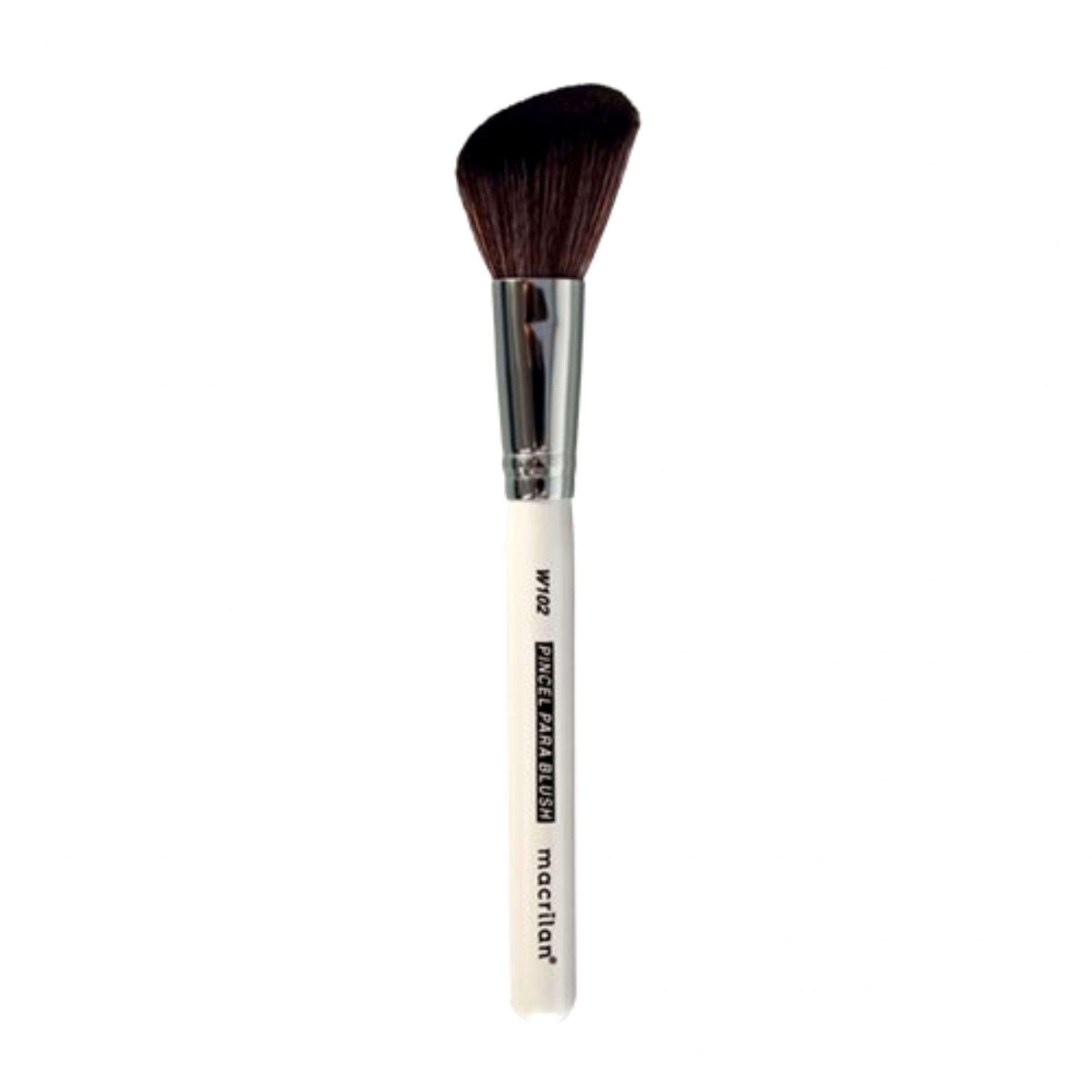 Pincel profissional para blush Macrilan W102 Linha W