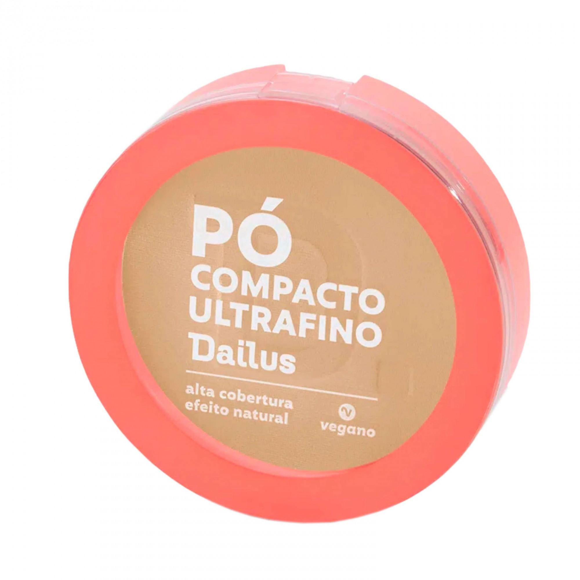 Pó Compacto Ultra Fino cor D.4 Claro Dailus