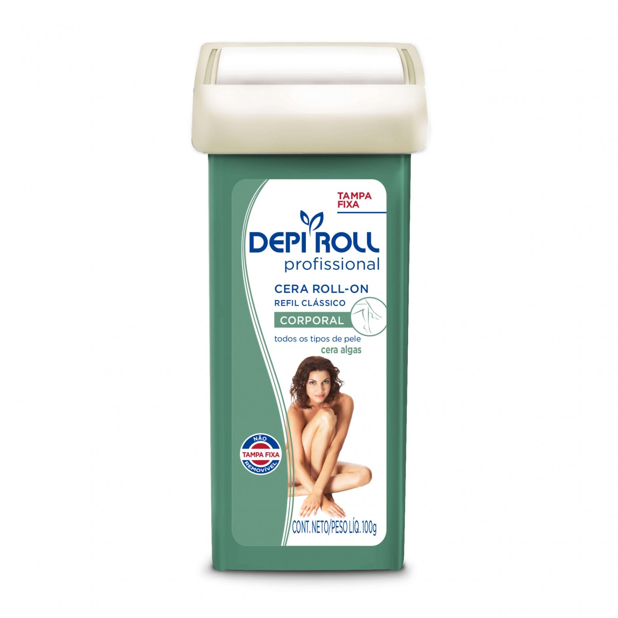 Refil Cera Corporal Roll-On Algas Depi Roll 100g