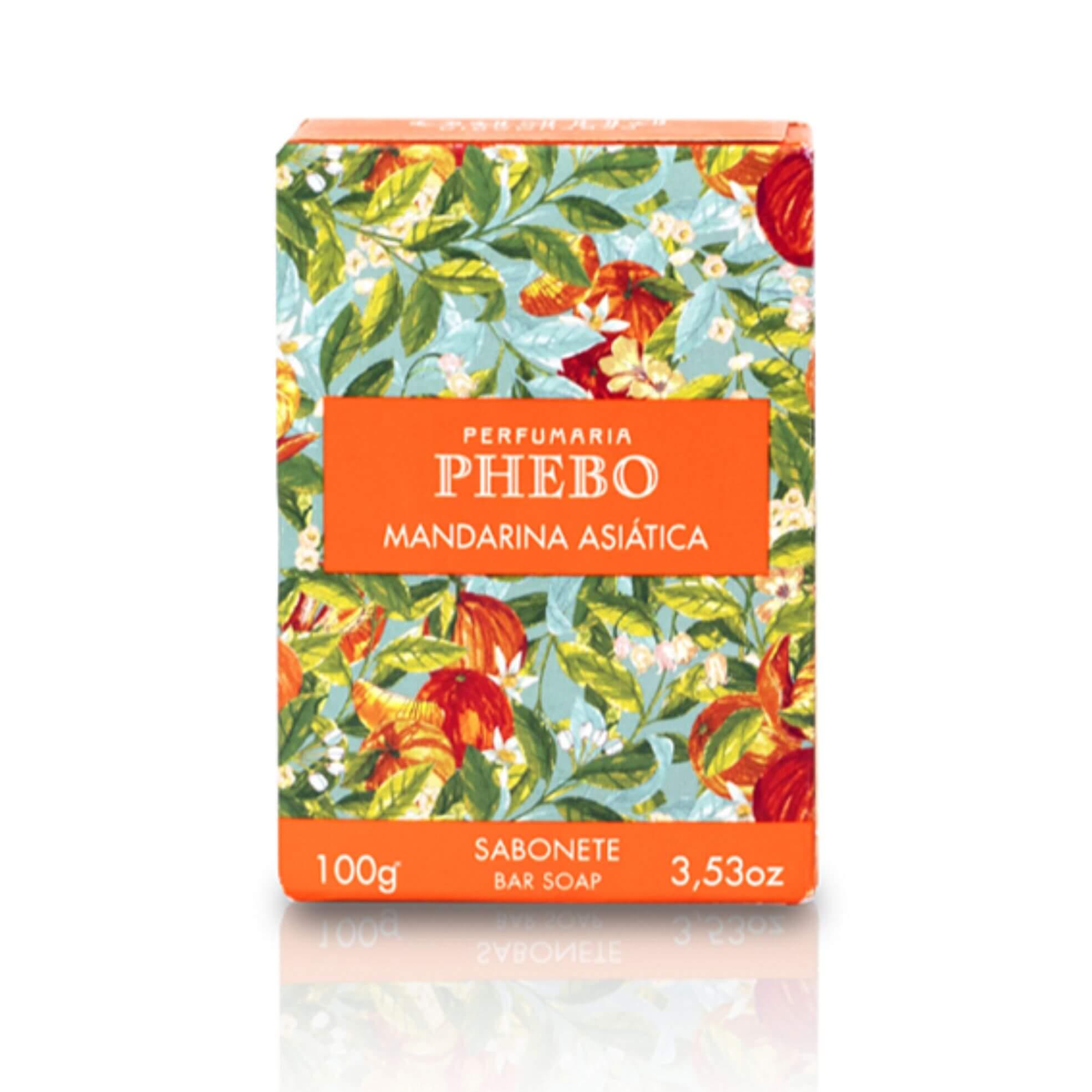 Sabonete Em Barra Mandarina Asiática - Phebo 100g
