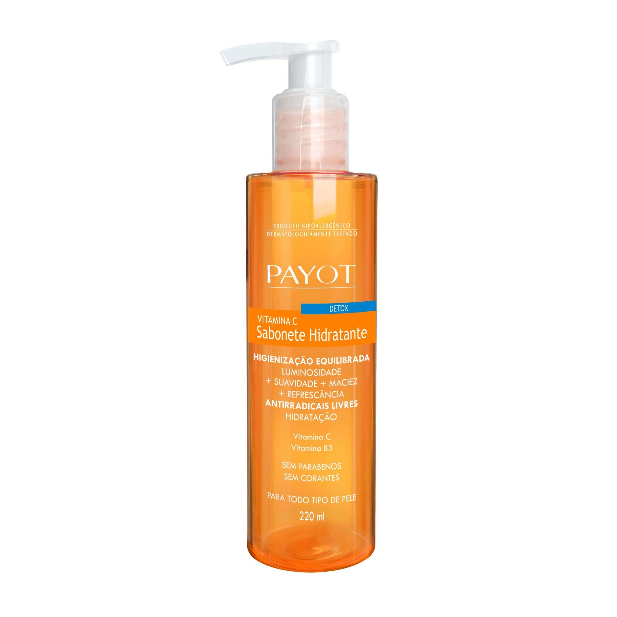 Sabonete Líquido Facial Hidratante Detox Vitamina C