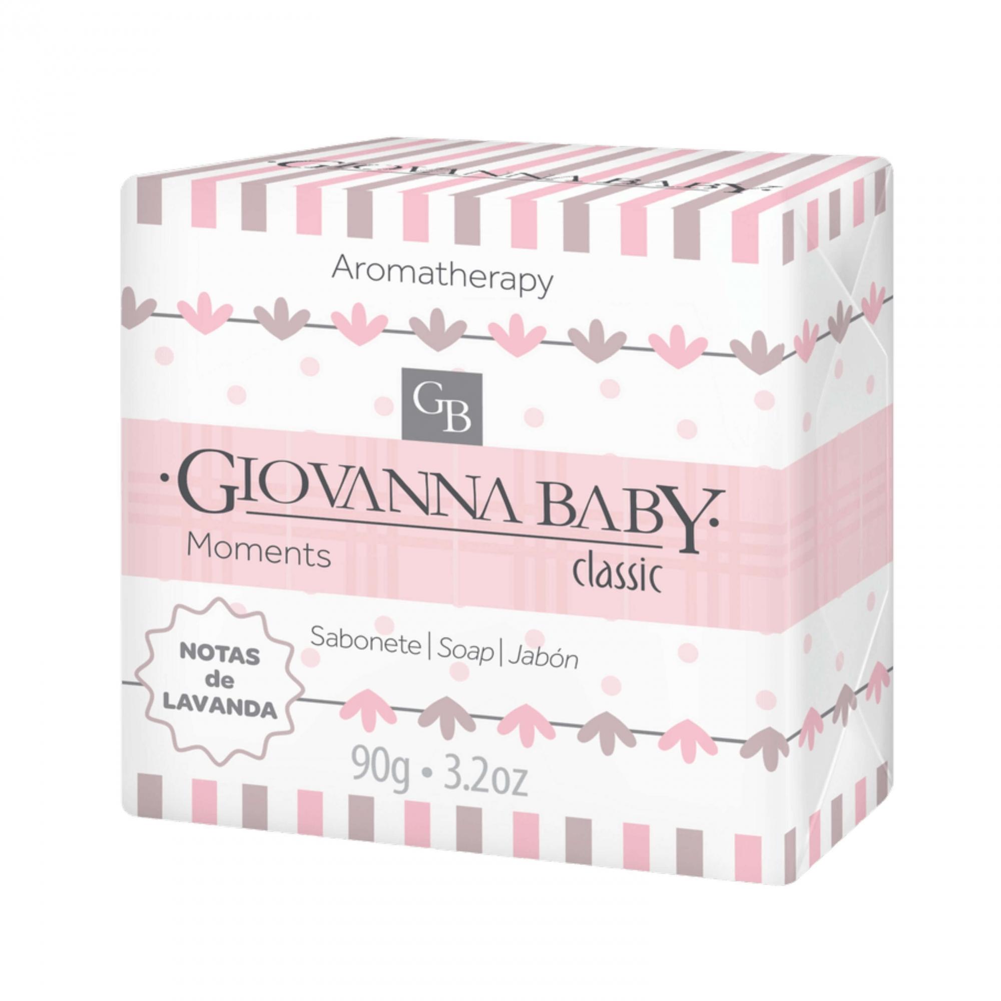 Sabonete Moments Classic Giovanna Baby 90g