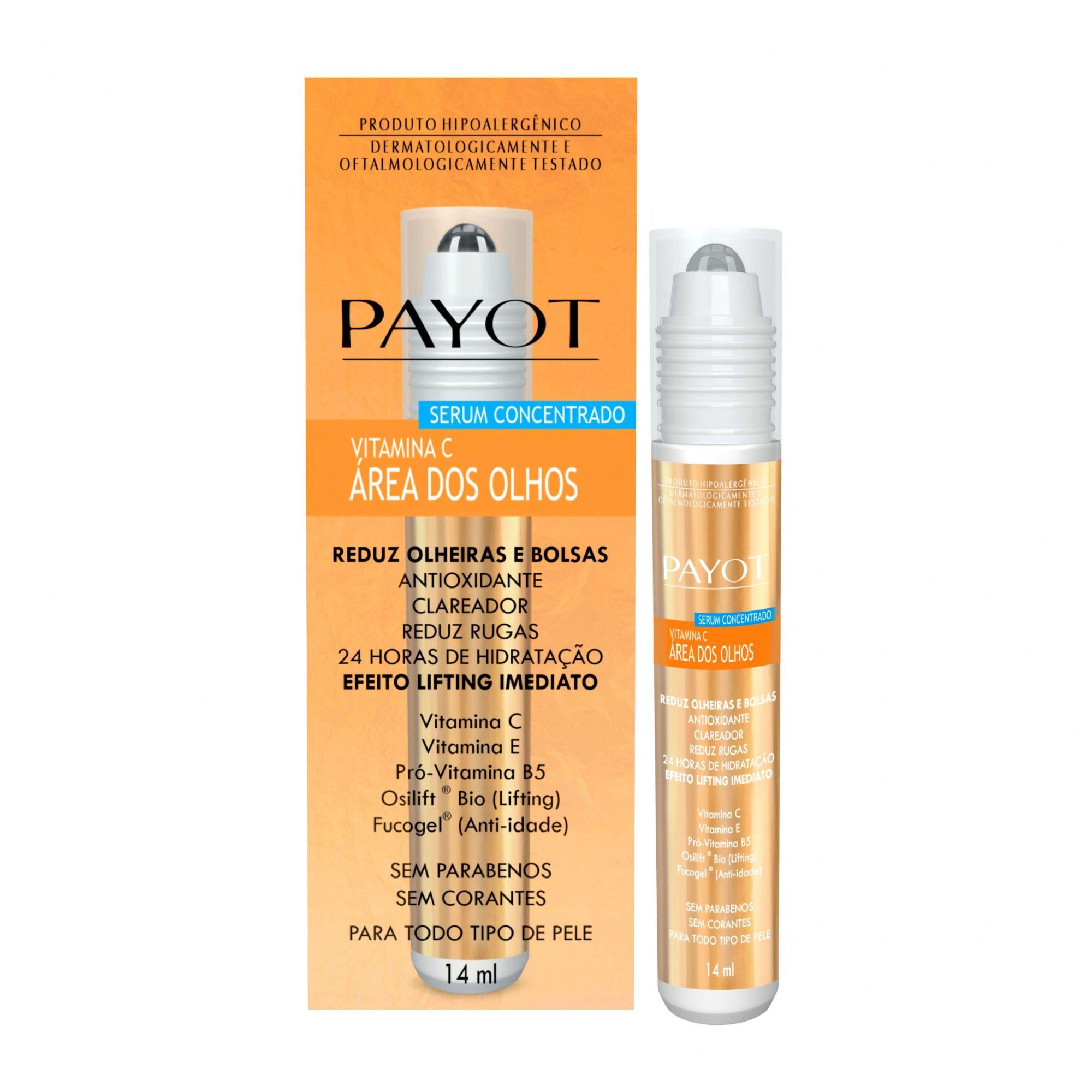 Serum Anti-Idade Vitamina C Área dos Olhos Payot 14ml