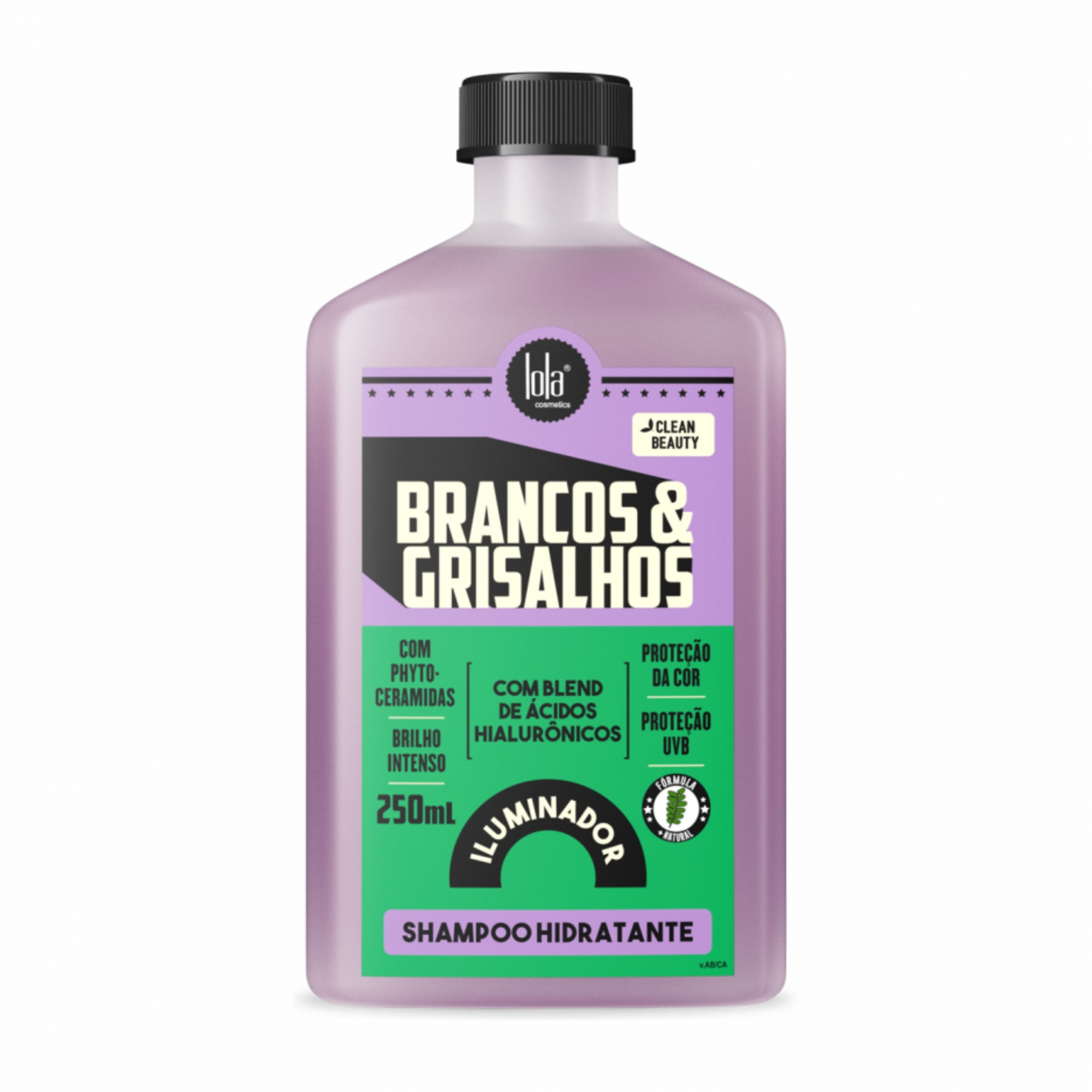 Shampoo Hidratante Brancos & Grisalhos Lola Cosmetics 250ml