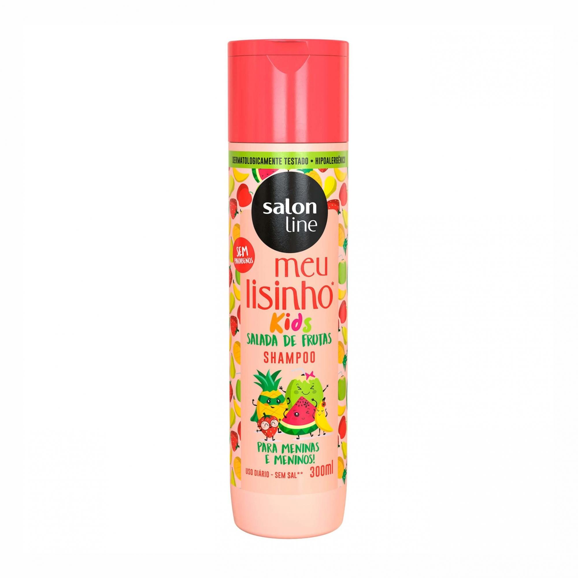 Shampoo Infantil Meu Lisinho Salada de Frutas - Salon Line 300ml