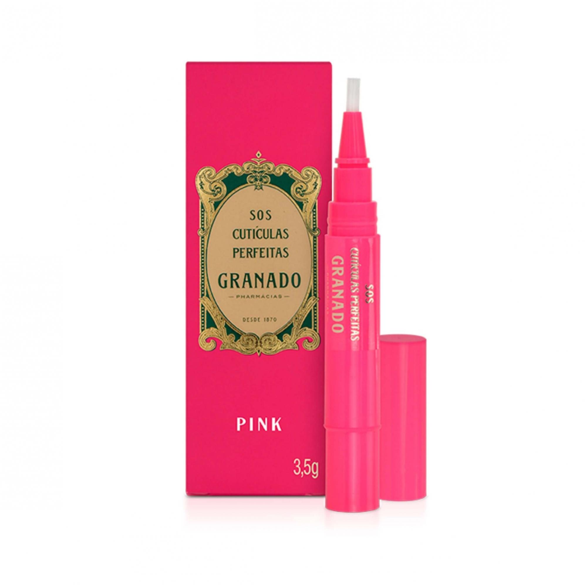 Sos Cutículas Perfeitas Granado Pink 3,5g