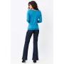 Casaco Ralm tricot com botões - Azul