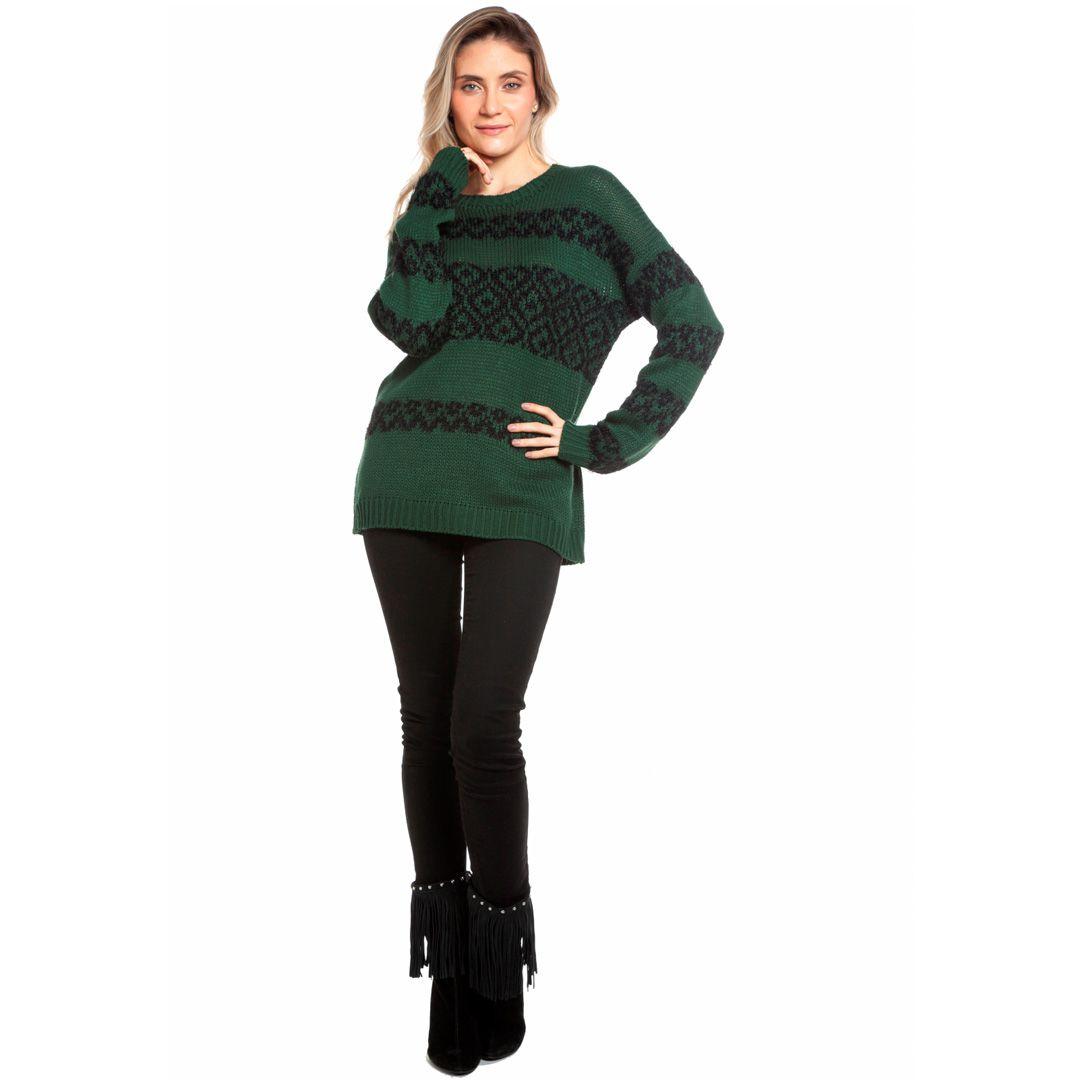 Blusa jacard fofinho - Verde
