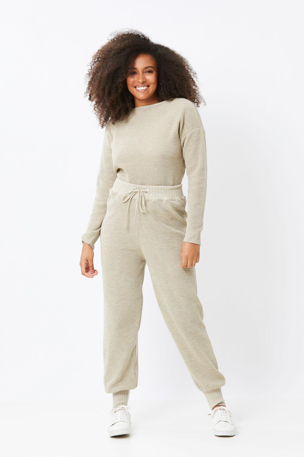 Conjunto Ralm de tricot Fang