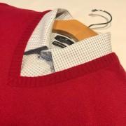 Blusa Masculina Sueter Tricot Gola V Fina *02 Unidades
