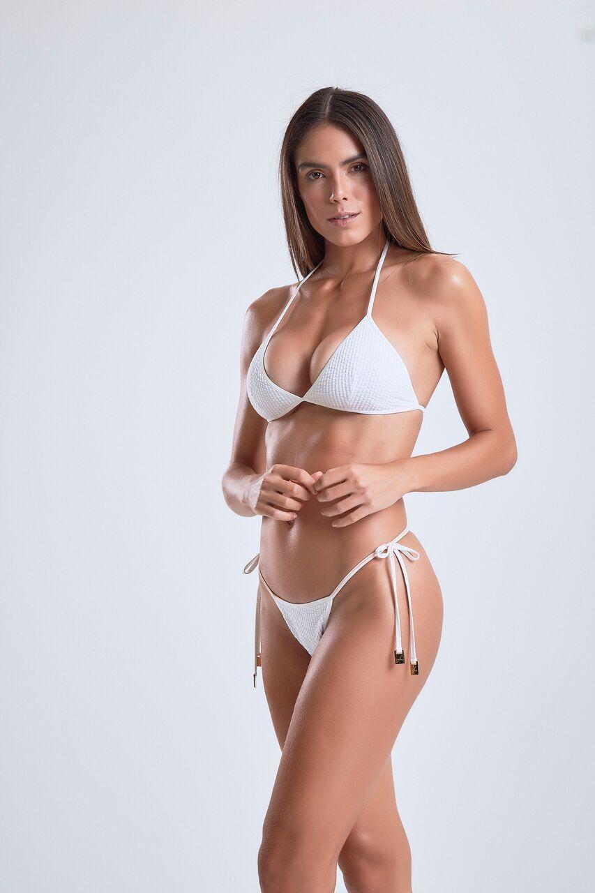 Biquini Branco Labellamafia PBQ243