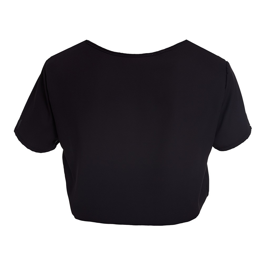 BLUSA CROPPED LABELLAMAFIA BLACK PRETO 20999