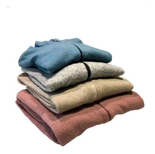 Blusa De Frio Feminina De Lã Com Capuz 02 Unidades