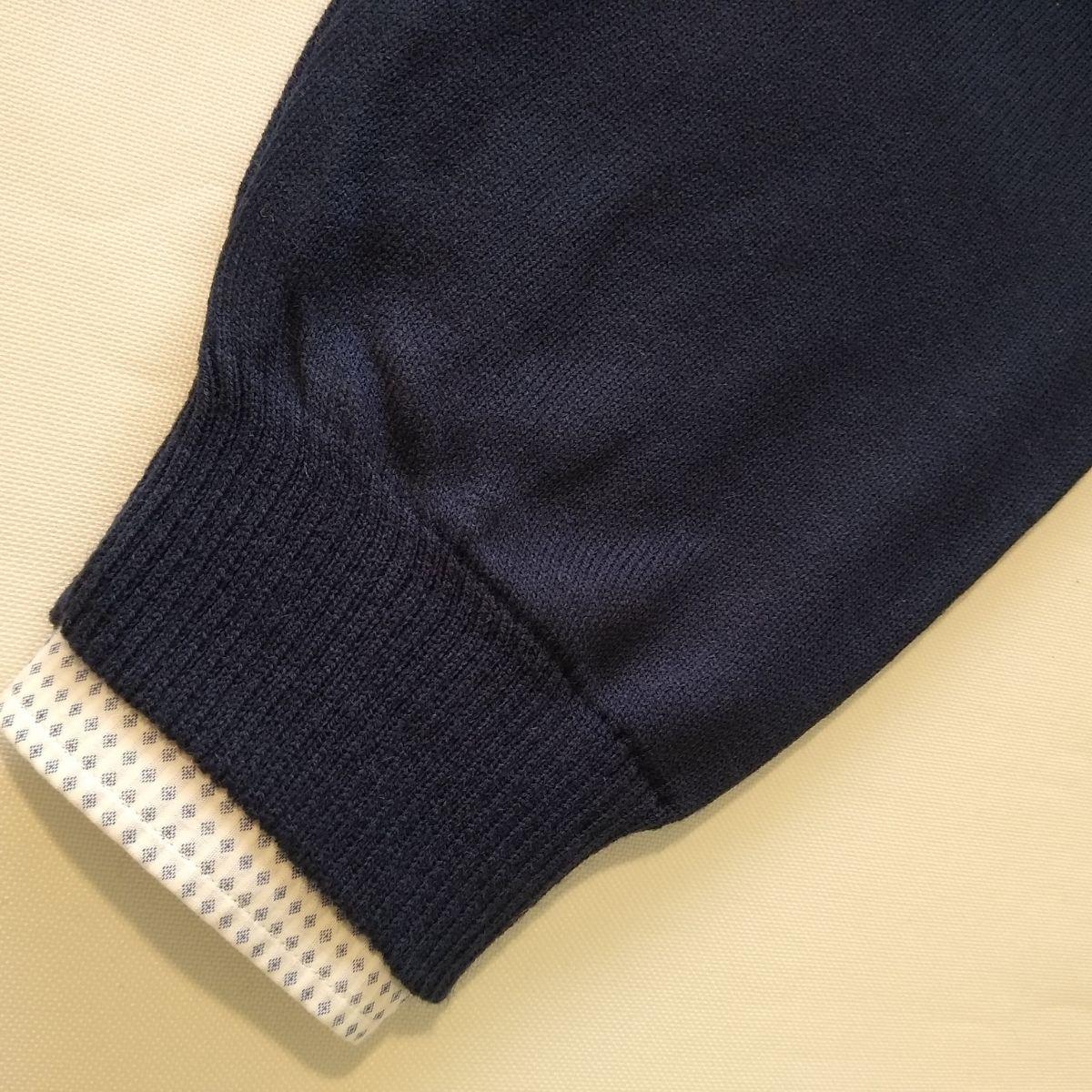Blusa Masculina Sueter Social Gola V Fina Plus Size G1 A G4