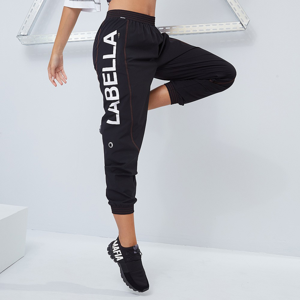 CALCA JOGGER LABELLAMAFIA STRIPES PRETO 20976