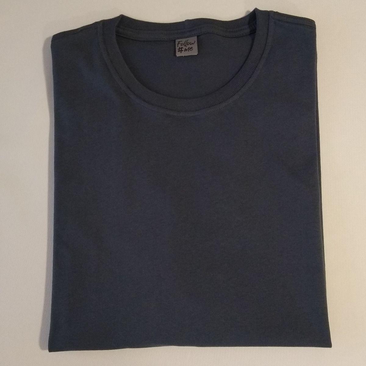 Camiseta Masculina Plus Size Algodao Penteado Luxo G5 G6 G7