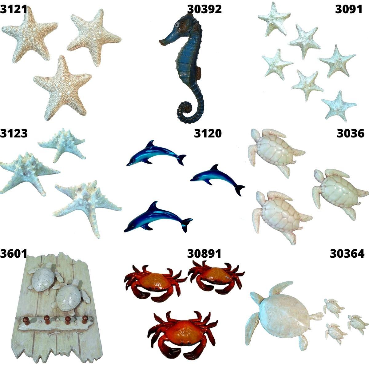 Golfinho Enfeite De Resina P/decoração Parede Externa 1,00mt
