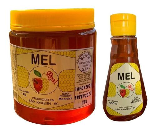 Mel Puro Suplemento Natural Pré Treino Selo Sif 1kg + 300g