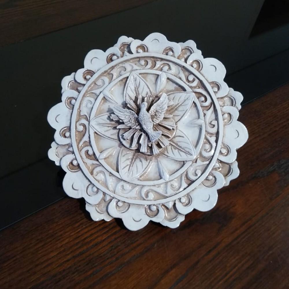 Mini Quadro Decorativo Tartaruga Casa Praia Mar Fibra 43cm