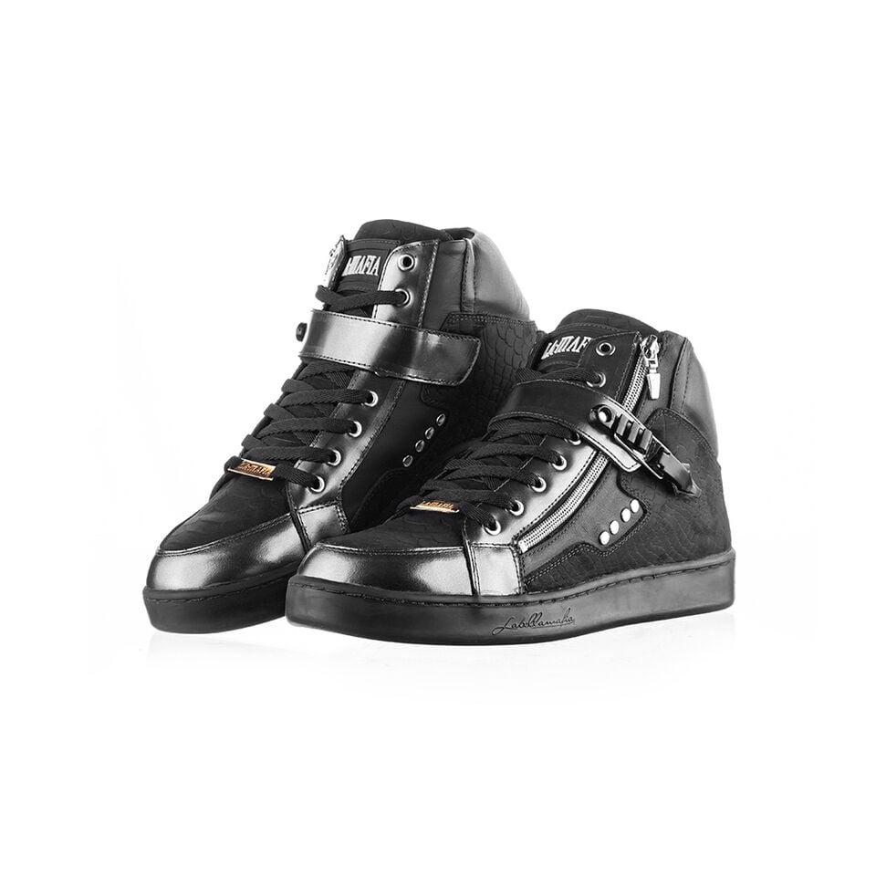 Tenis Sneaker Masculino Lamafia Preto LM102201